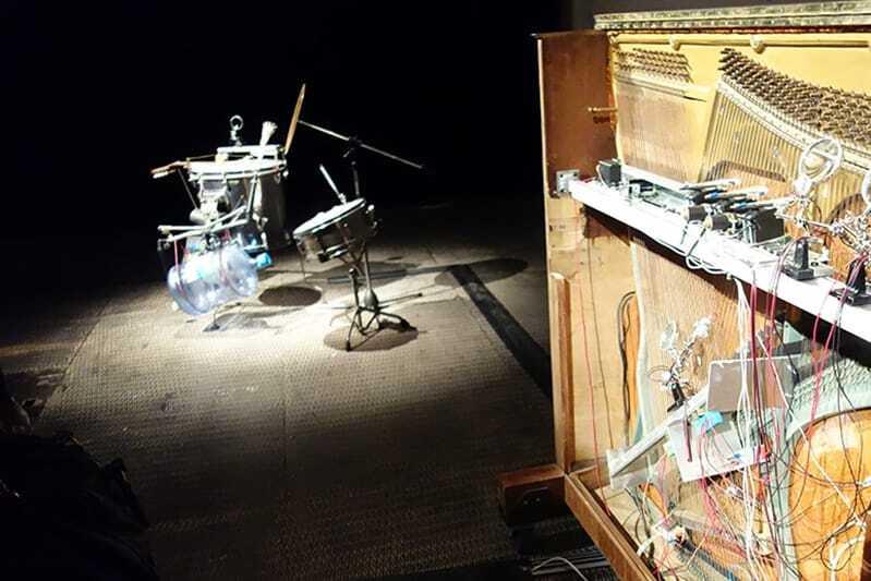 Automates piano Hansen et Poum Skat